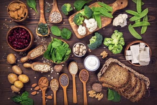 Pflanzliche Eiweissquellen - veganes Protein