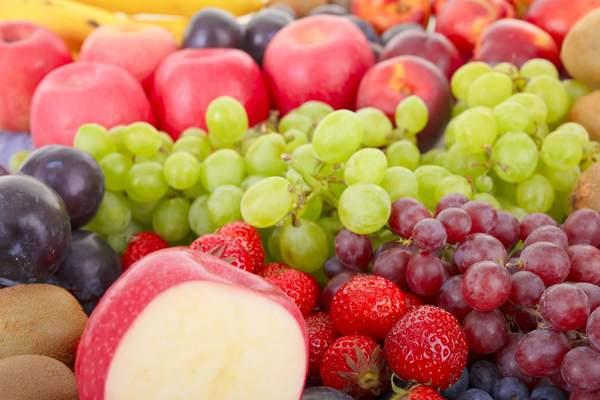 Fructosehaltige Obstsorten