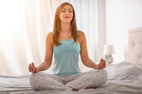 Meditation am Morgen
