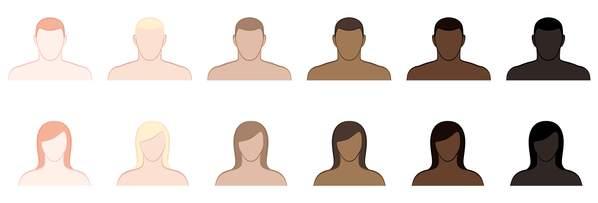 Die sechs Hauttypen
