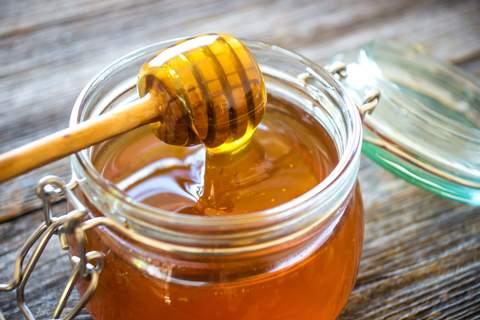 Glas voll Honig